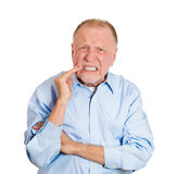 Tooth pain Stock Image