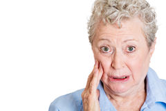 Tooth pain Royalty Free Stock Photo