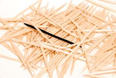 Tooth-picks Royalty Free Stock Images