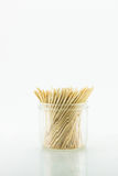Tooth Picks. Toothpicks on a white background Royalty Free Stock Images