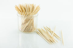 Tooth Picks. Toothpicks on a white background Stock Images