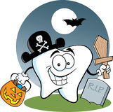 Tooth Pirate Stock Photo