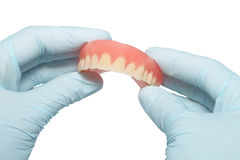 Tooth prostheses Stock Images