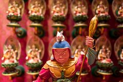 The Tooth Relic temple in Singapore.  stock photography