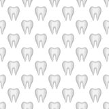 Tooth seamless pattern Stock Images