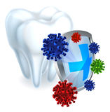 Tooth Shield Concept Stock Photos