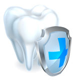 Tooth Shield Concept Royalty Free Stock Photo