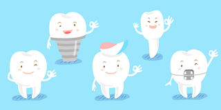 Tooth show ok to you Stock Photo