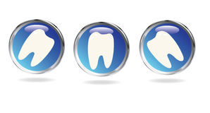 Tooth sign Stock Image