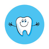 Tooth smile Royalty Free Stock Photo