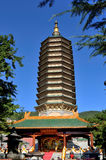 Tooth stupa Stock Photos