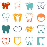 Tooth , teeth vector icons set Stock Image