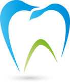 Tooth, tooth and dentist logo Stock Image