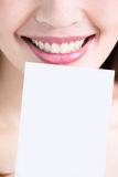 Tooth whiten concept Royalty Free Stock Image