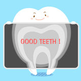 Tooth with xray Royalty Free Stock Photo