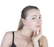 Toothache женщины. Стоковое фото RF