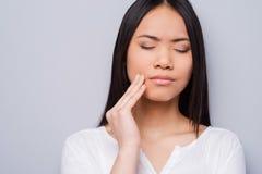 Toothache. Stock Photo