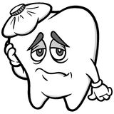 Toothache Illustration Stock Images