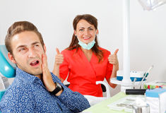 Toothache Royalty Free Stock Photography