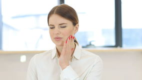 Toothache, Teeth Pain stock video