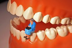 Toothache or tooth pain Royalty Free Stock Image