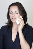 Toothache woman Royalty Free Stock Photo