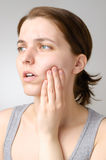 Toothache Stock Photography
