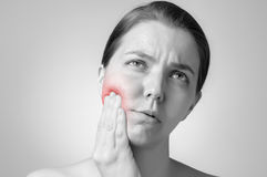 Toothache Royalty Free Stock Photo