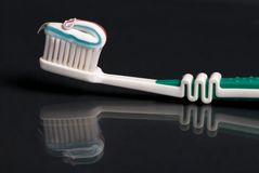 Toothbrush imagem de stock royalty free