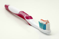 Toothbrush. With Toothpaste Royalty Free Stock Images