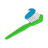 toothbrush иллюстрация вектора