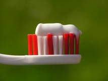 Toothbrush bianco Immagini Stock Libere da Diritti