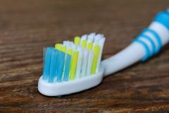 Toothbrush close up Royalty Free Stock Photo