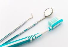 toothbrush dentale degli strumenti immagine stock libera da diritti