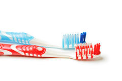 Toothbrush due Fotografia Stock