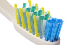 Toothbrush Macro Isolated Royalty Free Stock Images