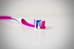 Toothbrush odosobniony widok Zdjęcie Stock