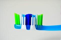 Toothbrush odosobniony widok Zdjęcia Royalty Free