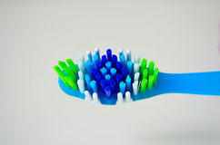 Toothbrush odosobniony widok Zdjęcie Royalty Free