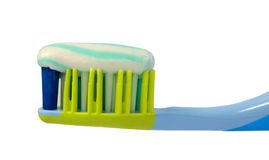 Toothbrush with paste Stock Photography