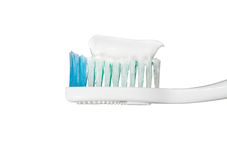 Toothbrush with paste Royalty Free Stock Image