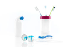 Toothbrush set Obraz Royalty Free