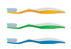 Toothbrush. On a white background stock illustration