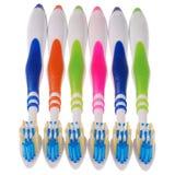 Toothbrushes (ścinek ścieżka) Fotografia Royalty Free