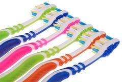 Toothbrushes (ścinek ścieżka) Obraz Stock