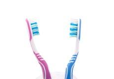 toothbrushes Fotografia Stock