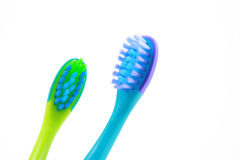 Toothbrushes Fotografia de Stock