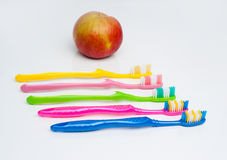 Toothbrushes Royalty Free Stock Images