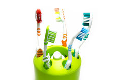 toothbrushes Photo libre de droits