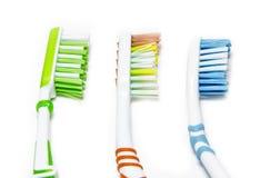 toothbrushes fotos de archivo